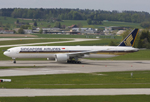 Singapore Airlines Boeing 777-312/ER